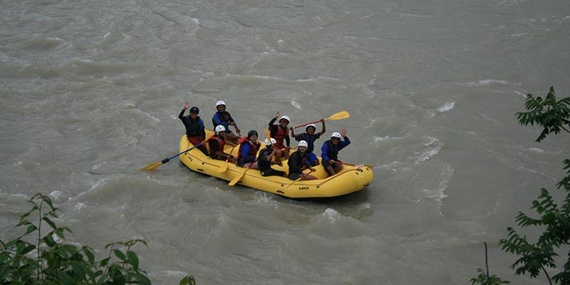 River Rafting in Bhutan