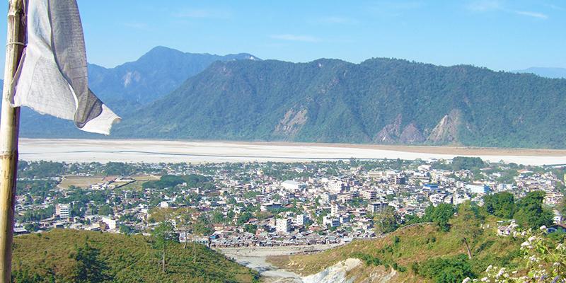 Bhutan from Bagdogra