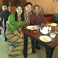 Mr. William Chen & his wife travelled with Heavenly Bhutan.